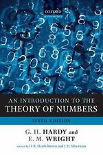 FAST SHIP - HARDY WRIGHT 6e An Introduction to the Theory of Numbers         BB1