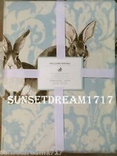 "Williams Sonoma Easter Damask Bunny Rabbit Damask Tablecloths Rectangle 70""x108"""