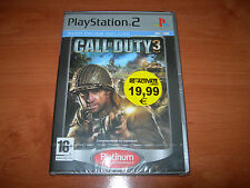 CALL OF DUTY 3 PS2 PLATINUM (PAL ESPAÑA PRECINTADO)