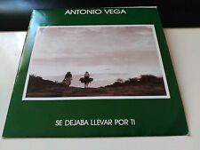 SINGLE PROMO ANTONIO VEGA - SE DEJABA LLEVAR POR TI - SPAIN 1991 VG+/NM