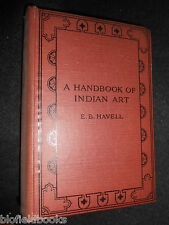 A Handbook of Indian Art by E B Havell - 1920-1st - Indian Art and Architecture