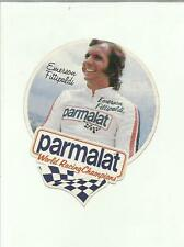 sticker adesivo PARMALAT WORLD RACING CHAMPIONS EMERSON FITTIPALDI
