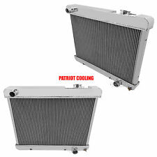1965-1966 Oldsmobile Cutlass 4 Row Aluminum Champion Radiator