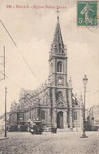 ROUEN 285 église saint-sever timbrée 1911