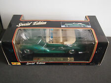 New Maisto Diecast 1955 Mercedes Benz 300S 1:18 Model Special Edition Box