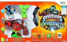 Skylanders Giants Glow In The Dark Nintendo Wii Game Starter Pack Great Gift NEW