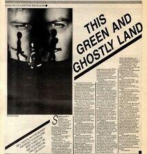 22/10/83PGN11 ARTICLE & PICTURE : XTC (PETE BLEGVAD)