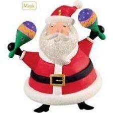 Hallmark 2009 Feliz Navidad ornaments by Jose Feliciano