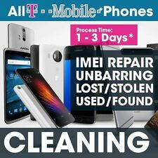 Cleaning Service Barred T-Mobile USA iPhone 4 - 6 + Remove list. black & Clean