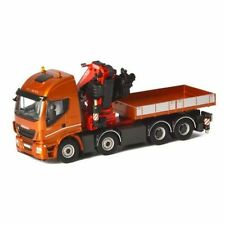 Iveco Stralis  CRANE TRUCK with Fassi 1100  1:50 Scale by wsi 04-1167