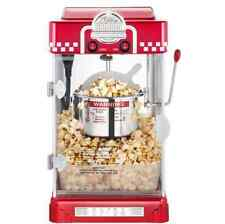 Old-Fashioned Retro Vintage Theatre Kettle Popcorn Maker Pop Corn Machine Popper