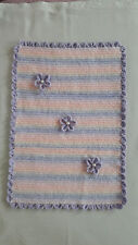 Berry Crafts - Crocheted Warm BABY BLANKET for Buggy Users