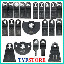 22 Pc Oscillating Multi Tool Saw Blade For Fein Multimaster Dremel Makita Bosch