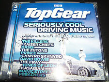 Top Gear Seriously Cool Driving Music Various 2 CD The Killers Oasis Kasabian T.