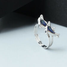 Stylish Chic Dolphin Ring Emotion Feeling Color Changing Mood Ring To Lover Gift
