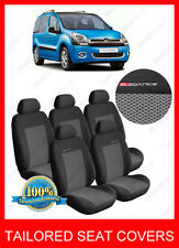Citroen Berlingo Multispace XTR  seat covers  full set for 5 seats grey 2