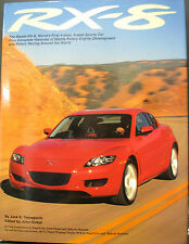 RX8 The World's First 4-Door 4-Seat SPORTS CAR BY JACK K. YAMAGUCHI