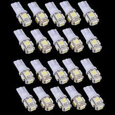 20X T10 5050 5 LED SMD W5W 194 168 weiß Auto Lampe Standlicht Glühbirne 12V