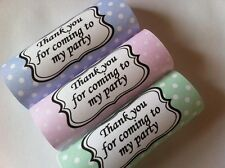 12 Vintage Poka Dot Personalised Chocolate Wrappers Birthday Wedding Favours