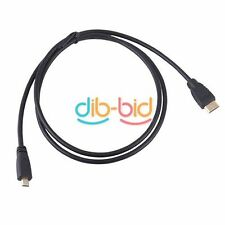 1M 3FT Mini HDMI Male to Micro HDMI Male M/M HD Adapter AV Cable for HDTV DBDB5