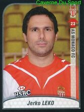 276 JERKO LEKO CROATIA AS.MONACO DINAMO ZAGREB STICKER FOOT 2010 PANINI