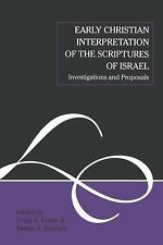 The Library of New Testament Studies: Early Christian Interpretation of the...