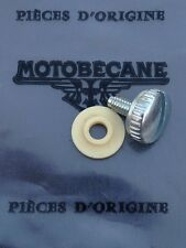 Mobylette, Motobecane Raleigh Chain Guard Cover Screw with Genuine Washer