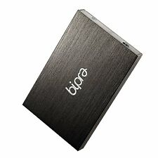 Bipra 640GB 2.5 inch USB 3.0 FAT32 Portable Slim External Hard Drive - Black