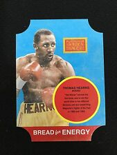 "THOMAS HEARNS RETRO INSERT DIE CUT GOLDEN AGE PANINI 2013 ""ENERGY"" BOXING CARD"