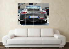 Grande PORSCHE 911 TURBO POSTERIORE SUPERCAR SPORTS CAR WALL POSTER Arte Stampa Quadro