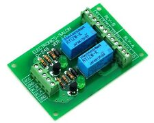 Two DPDT Signal Relay Module Board, DC12V Version, for PIC Arduino 8051 AVR - UK