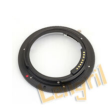 Pixco GE-1 AF Confirm Pro Lens Adapter For Leica R to Canon EOS Camera