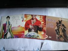 RARE 3 X PRINCE - 20/10 - PLANET EARTH - SIGN O THE TIMES RARE PROMO CDS / DVD