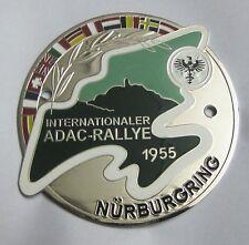 ADAC INTERNATIONALER RALLYE 1955 NURBURGRING GRILL BADGE EMBLEM LOGOS METAL CAR