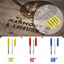 15X 30° 45° 60° Couteau de découpe de vinyle pour Graphtec CB09U