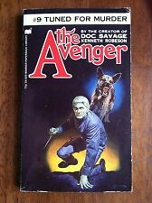 THE AVENGER #9 Tuned For Murder Kenneth Robeson 1973 Doc Savage HTF L@@K WOW!!!