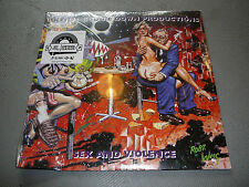 BDP Sex & Violence 2LP BLEM factory 2nds bent corners KRS-ONE
