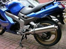 Kawasaki ZZR 1200 Stainless round Road Legal MTC Exhausts