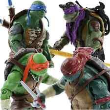NEW Teenage Mutant Ninja Turtles Movie TMNT Set of 4 Action Figures Gift Toys