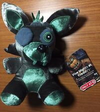 "FNAF Five Nights at Freddys GREEN PHANTOM FOXY 6"" Funko Plush Target Exclusive"