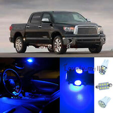 14Pcs Blue Map/Dome Lights Interior LED Package Kit For Toyota Tundra 2007-2014