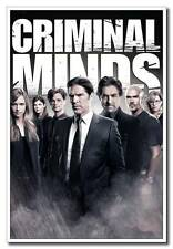 Cool Gift 24x16inch TV Silk Poster Free Shipping Wall Decals Criminal Minds
