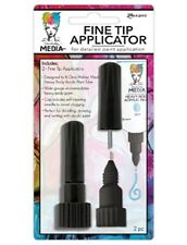 Dina Wakley Fine Tip Applicator 2 pack for Heavy Body Paint Writing