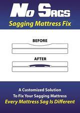No Sags -- Sagging Mattress Fix  (Standard)    Mattress Sag Support