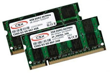 4GB + 2GB 6GB DDR2 667 Mhz Apple MacBook 3,1 4,1 2007 2008 RAM Speicher SO-DIMM