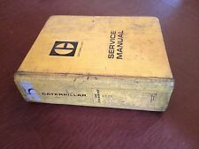 CATERPILLAR CAT 245 EXCAVATOR SERVICE MANUAL 82X 84X 95V 94J