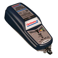 Optimate 4 Dual 12V Motorcycle Motorbike Battery Charger System With BMW CAN-BUS