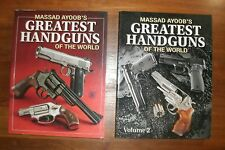 2 books:  Massad Ayoob's Greatest Handguns of the World Volumes 1 & 2
