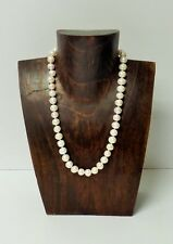 Walnut Color Natural Wood Necklace Display