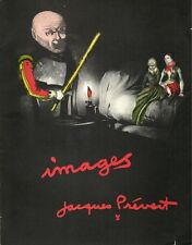 RARE EO N° CATALOGUE ADRIEN MAEGHT IMAGES DE JACQUES PREVERT ( 19 COLLAGES )